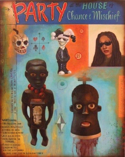 Рене Стаут (1958-) - афроамериканская художница, скульптрисса и гравировщщица.