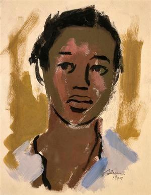 Самелла Льюис (1924-) - афроамериканская художница, гравировщица и писательница.