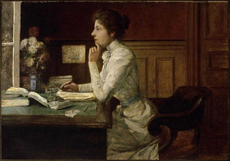 Эбигейл де Андраде - (1864-1890) бразильская художница.