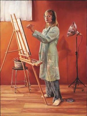 Кристи Гордон (1980-) - канадская художница-портретистка.