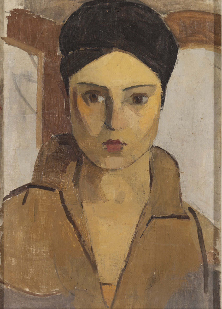 Хале Асаф - (1905-1938) турецкая художница, племянница Михри Мусфик Ханым.