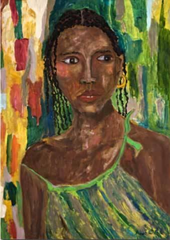 Пасита Абад (1946-2004) - филиппинская художница, работавшая во многих художественных техниках, таких, как коллаж, стекло, керамика, стрит арт.