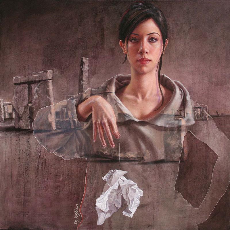 Сара Шамма (1975-) - сирийская художница.