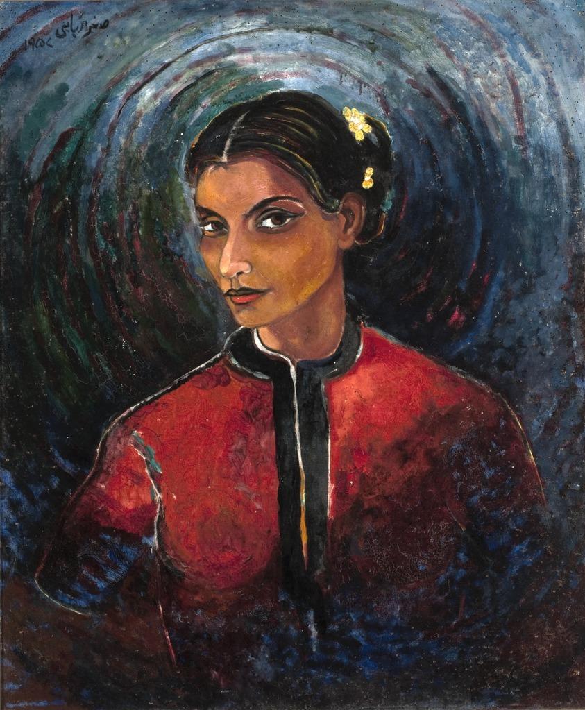 Зухра Рабаби (1922-1994) - пакистанская художница.