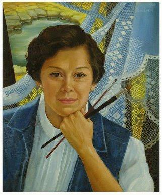 Аракели Лимкачо Данс (1929) - филиппинская художница, известная своими натюрмортами.