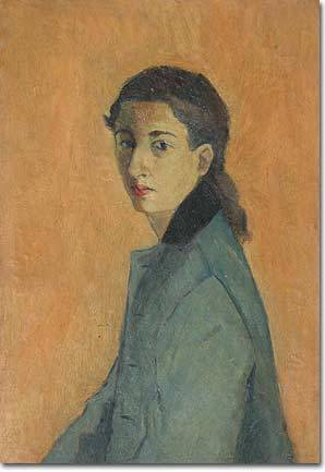 Хелен Кхал (1923-2009) - ливанская художница-абстракционистка.