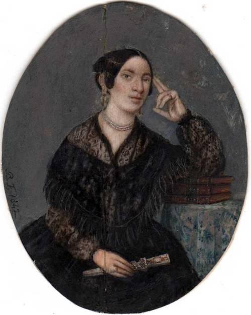 Мария Бальдомера Фуэнтес и Сегура -  (180701877) мексиканская художница-миниатюристка.