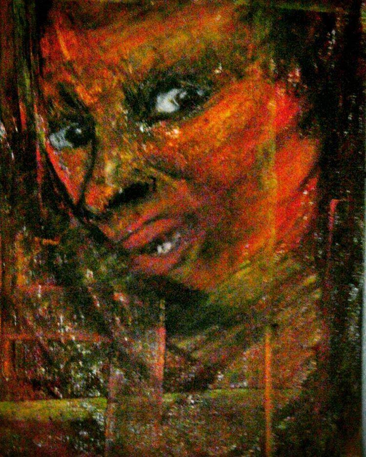 Селин Бернабе (1993-) - художница с Мартиники.