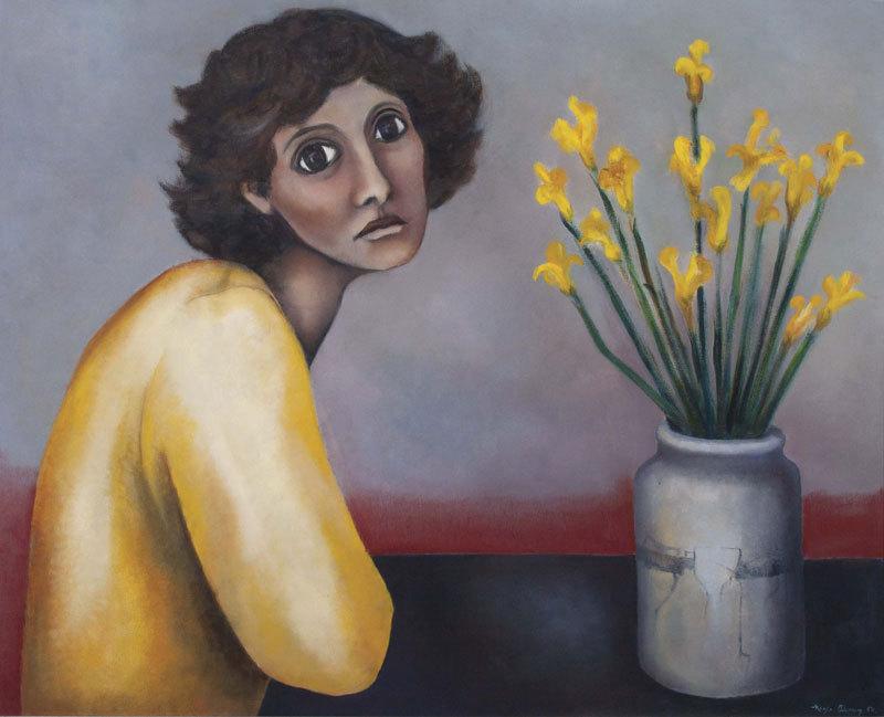 Негра Альварес (1948-) - художница из Сальвадора.