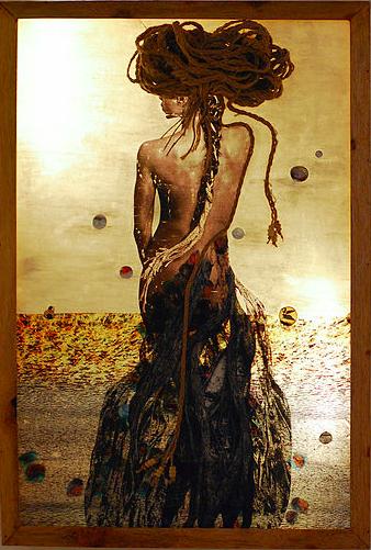 Беретта Макколей - художница из Сьерра Леоне