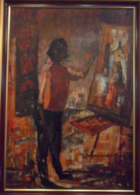Джулия Диас  (1917-1999) - одна из первых художниц Сальвадора.