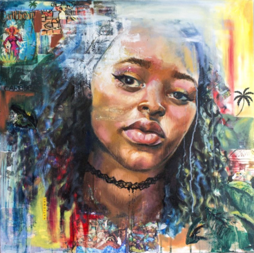 Аланис Форде - художница с Барбадоса.