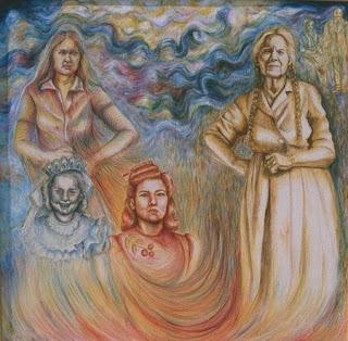 Джуди Бака (1946-) - художница народности чикано (латиноамериканское население Юго-Запада США).