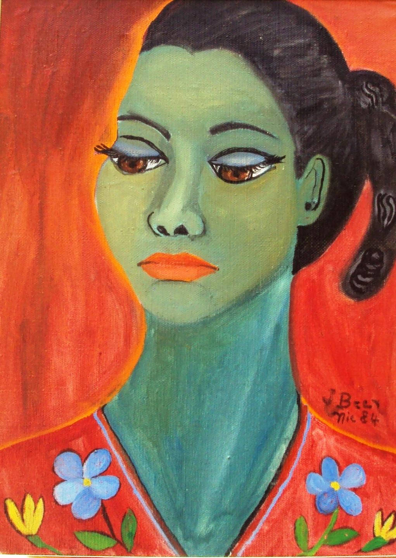 Джун Бир (1935-1986) - художница из Никарагуа.