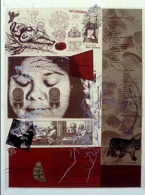 Ирена Сервантес (1952-) - художница чикано, муралистка и гравировщица.