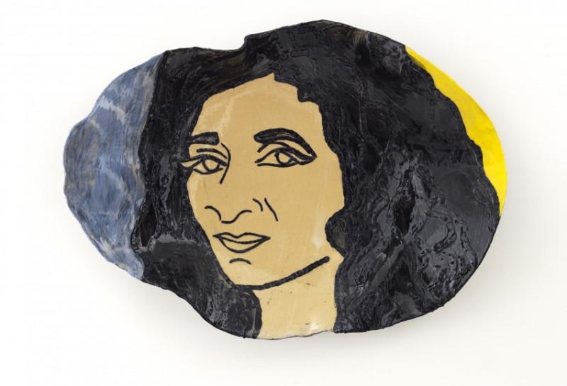 Гада Амер (1963-) - египетская художница, известная картинами с использованием вышивки.