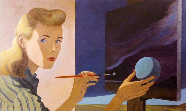 Мюриэль Стритер - (1913-1995) - американская художница-сюрреалистка.