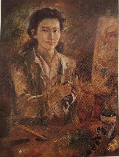 Анита Мэгсейсэй Хо - (1915-2012) филиппинская художница.