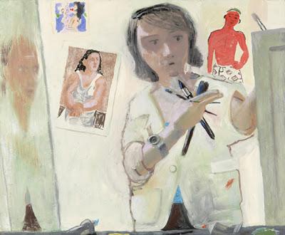 Елена Систо (1952-) - американская художница, известная картинами, в которых она описывает опыт женщины художницы.