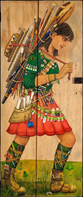 Ирен Хардвик Оливьери (1958-) - американская художница и писательница.