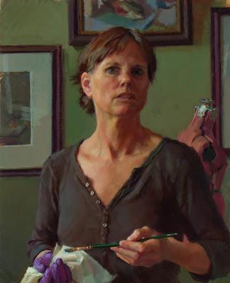 Леа Коли Уайт (1951-) - американская художница, известная реалистичными портретами, автопортретами и натюрмортами.