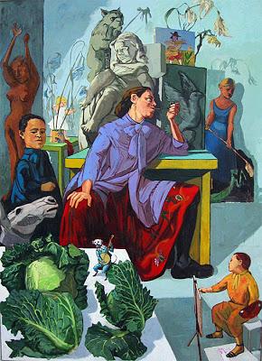Паула Регу (1935-) - португальская художница.