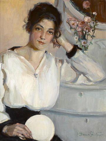Донна Норин Шустер (1883-1953) - американская художница импрессионистка.