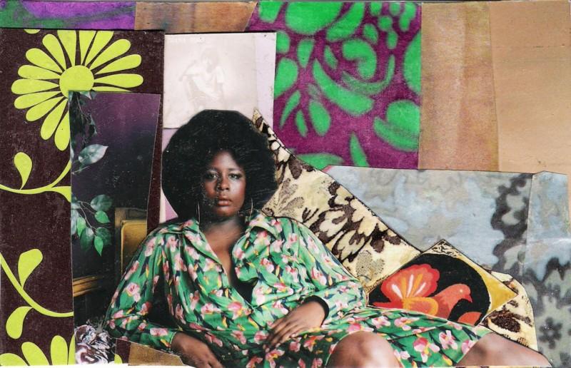 Микалейн Томас (1970-) - афроамериканская художница, работающая в техниках живописи, коллажа и фотографии.