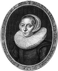 Магдалена ван де Пассе (1600-1638) - голландская грвировщица, преподавала Марии ван Шурман.