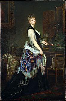 Адель д'Аффри (1836-1879) - швейцарская художница и скульптрисса.