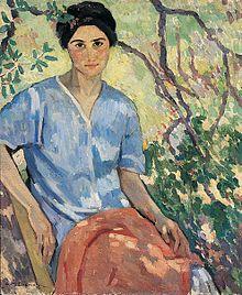 Энни Бремер (1868-1923) --американская постимпрессионистка и поэтесса.