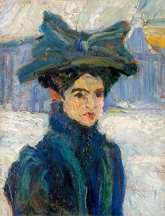 Надежда Петрович (1873-1915) - сербская художница.