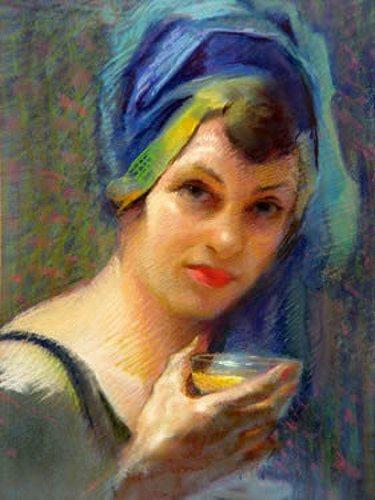 Грета Кемптон (1901-1991) - официальная художница Белого Дома.