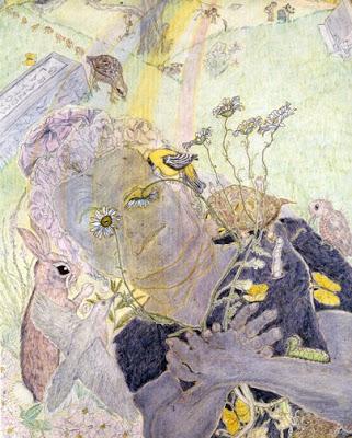 Элизабет Лейтон (1909-1993) - американская художница. Начала рисовать в 70 лет.