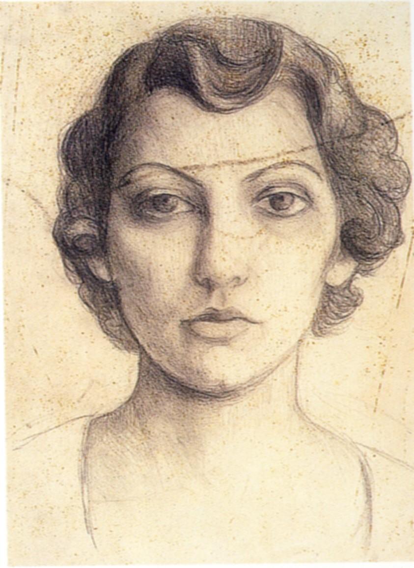 Лукия Николайду (1909-1994) - художница из Кипра.
