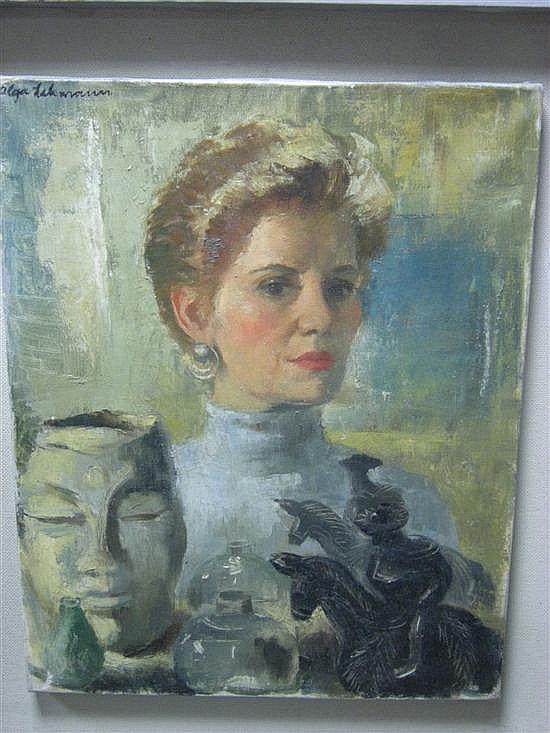 Ольга Леманн (1912-2001) - чилийская художница, иллюстратриса, муралистка, дизайнер театральных костюмов и декораций.