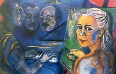 Норин Райс (1934-) - ирландская художница-абстракционистка.