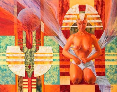 Кароль Декейзер (1959-2008) -бельгийская художница, известная монументальными картинами.