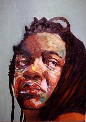 Беверли Макайвер (1962-) - афроамериканская художница, известная автопортретами.