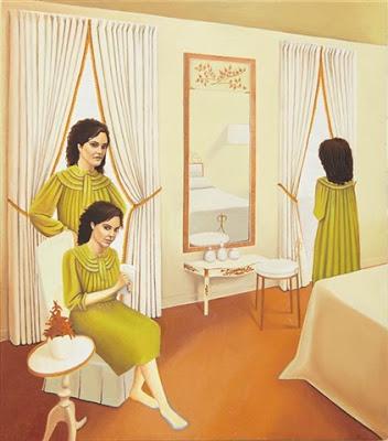Сандра Школьник (1968-) - американская художница, известная автопортретами.
