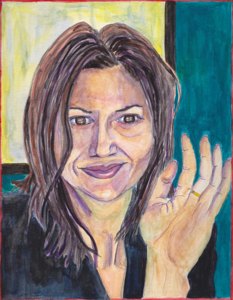 Эми Адлер (1966-) - американская художница, фотограф и режиссер.