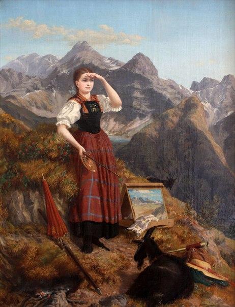 Анна Штайнер Ниттель (1841-1915) - австрийская художница.
