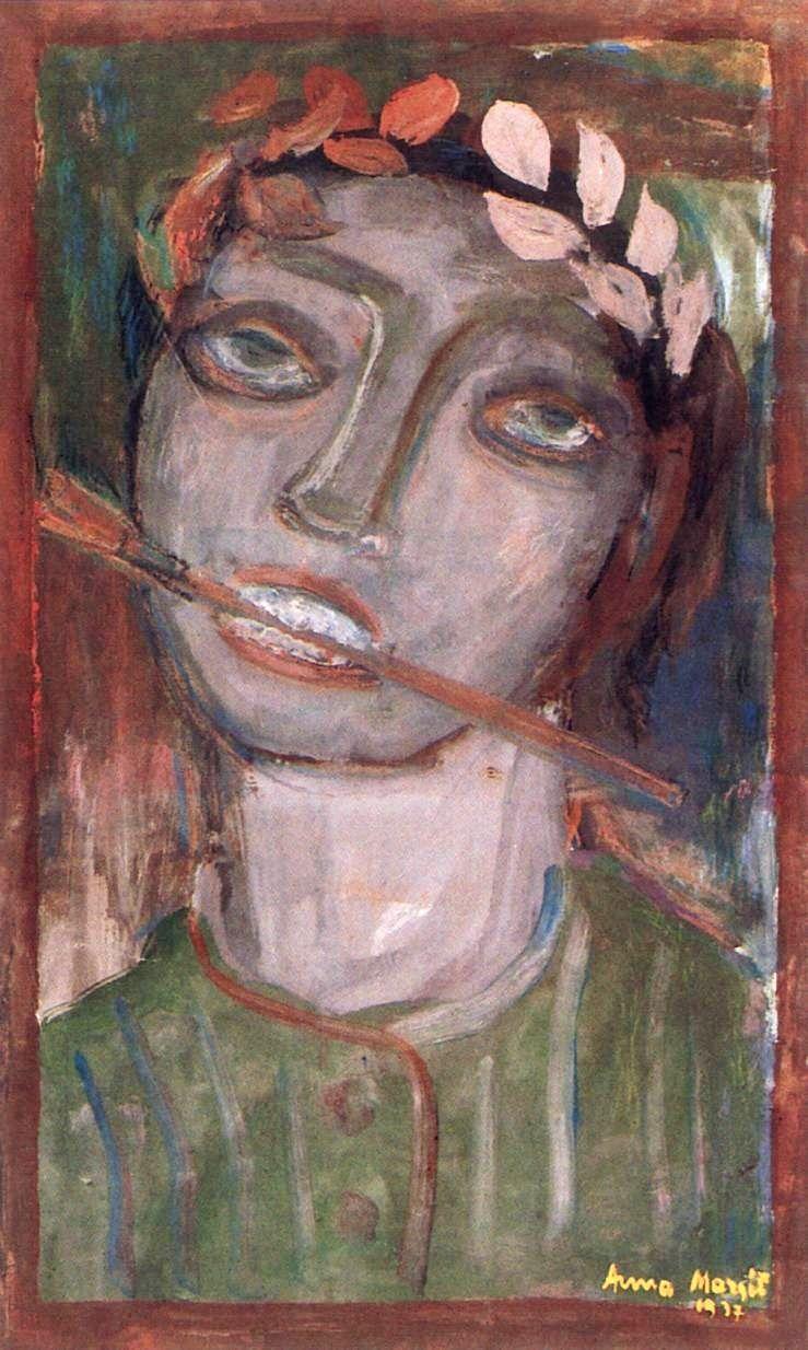 Анна Маргит (1913-1991) - венгерская художница-абстракционистка.