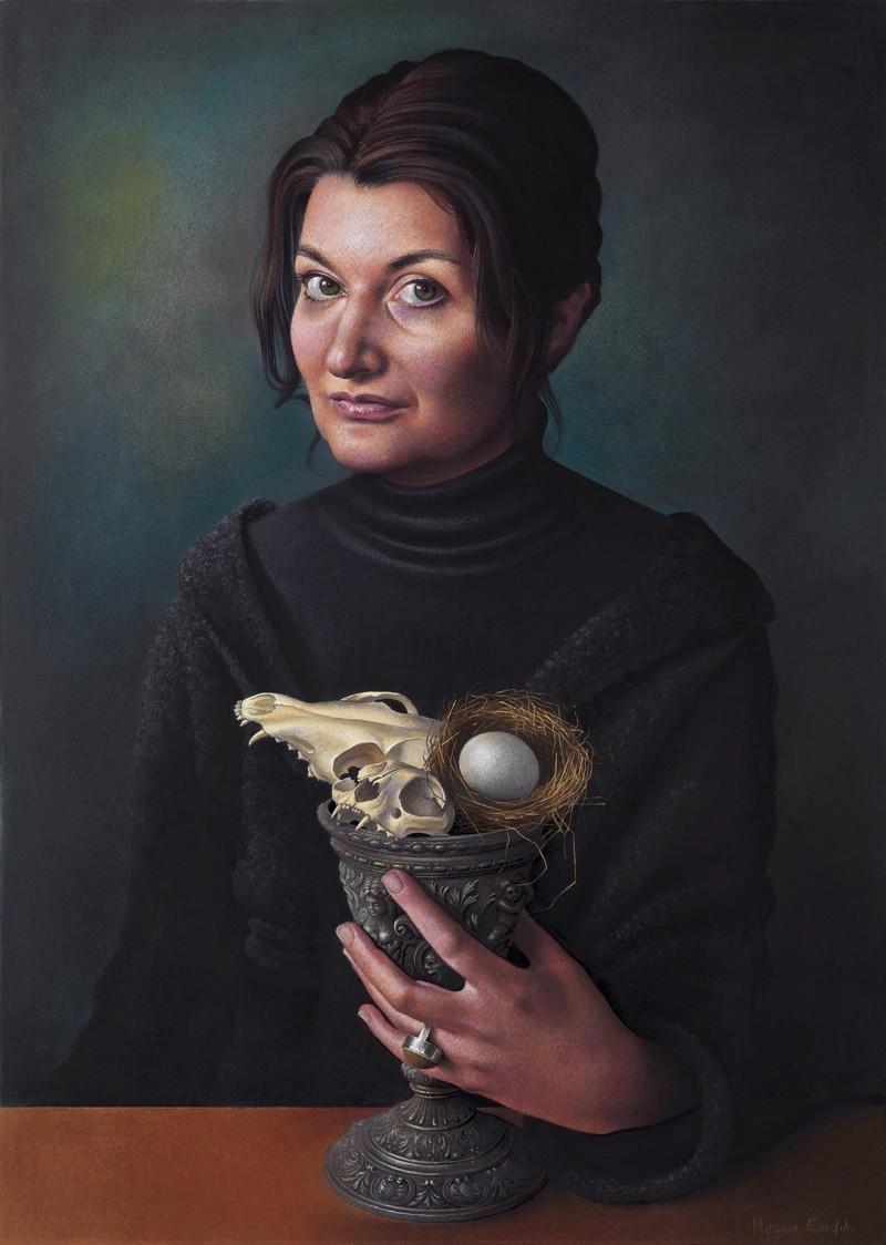 Мириам Эскофе (1967-) - испанская художница-портретистка.