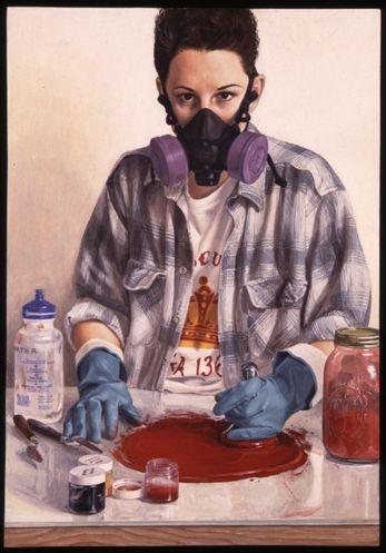 Сьюзан Винсент - американская художница, работающая в технике темпера.