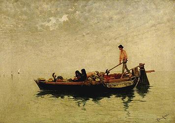 Хильда Монтальба Венецианский лодочник