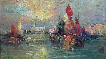 Клара Монтальба Дворец дожей Венеция.
