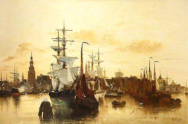 Клара Монтальба Порт в Амстердаме.