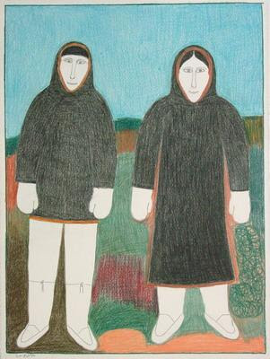Дженет Кикусиюг Муж и жена.