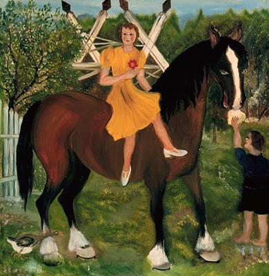 Симон Мари Бушар Девушка на лошади